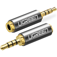 Adapter Ugreen 2,5 mm micro jack - 3,5 mm mini jack  - Adapter Ugreen 2,5 mm micro jack - 3,5 mm mini jack - mdronpl-adapter-przejsciowka-ugreen-20501-z-2-5-mm-micro-jack-na-3-5-mm-mini-jack-szary-1.png